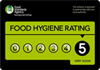 Good Hygiene - 5 out of 5