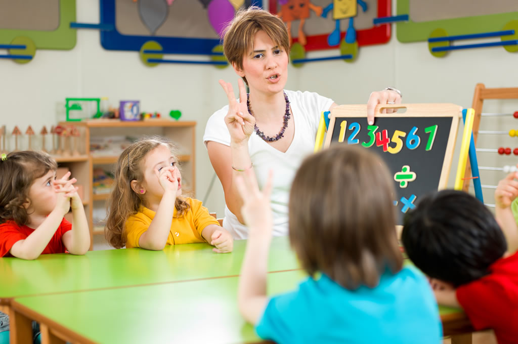 Russell Nursery - Teaching Numeracy